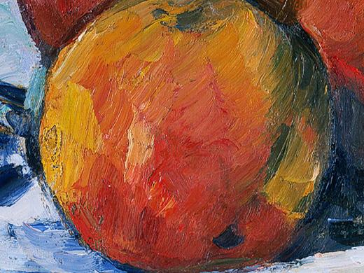 Paul Cezanne, _Pommes_