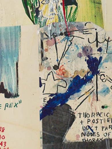 Jean -Michel Basquiat, _Red Eyes_, 1984