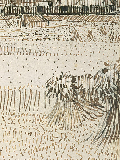 Vincent Van Gogh, _Arles, View From the Wheat Fields_, 1888